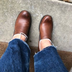 BOC Born Big on Comfort Brown Leather Kimy